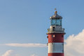 Lighthouse in Plymouth Royalty Free Stock Photo