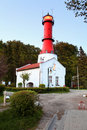 Lighthouse in Poland Stock Image