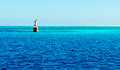 Lighthouse in the Red Sea Royalty Free Stock Photo