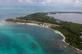 Lighthouse Reef Airstrip Royalty Free Stock Photo