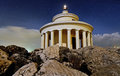 The lighthouse of Saint Theodoroi in Argostoli Kefalonia Royalty Free Stock Photo