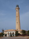 Lighthouse, San Vito Lo Capo, Sicily, Italy Royalty Free Stock Photo