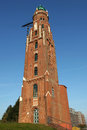 The lighthouse Simon Loschen in Bremerhaven Royalty Free Stock Photos