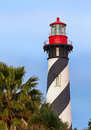 Lighthouse at St. Augustine, Florida Royalty Free Stock Photo