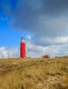Lighthouse on Texel Royalty Free Stock Photo