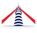 Lighthouse tower icon Royalty Free Stock Photo