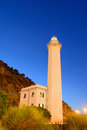 Lighthouse of vado ligure savona italy Stock Images