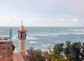 Lighthouse at Yaffa Royalty Free Stock Photos