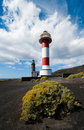 Lighthouses, Punto de Fuencaliente, La Palma Royalty Free Stock Images