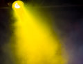 Lighting spotlights in the music and nightclub effects Royalty Free Stock Images