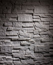 Lighting wall brick closeup dark grey Stock Image