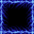Lightning Bolt Frame Royalty Free Stock Image