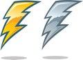 Lightning Bolt Symbol Royalty Free Stock Photo
