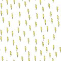 Lightning seamless pattern on white background. Paper print design. Abstract retro vector illustration. Trendy textile, fabric,