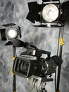 Lights, Camera, Action! Royalty Free Stock Photo