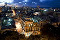 Lights of centro Havana, Cuba Royalty Free Stock Photography