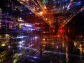 Lights Of Fractal Metropolis