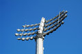 Lights at lord s cricket ground in london uk Royalty Free Stock Photos