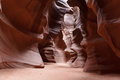 Lights And Shadows In Upper Antelope Canyon. Page,