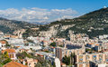 Ligurian alps in nice cote d azur france Stock Images