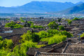 Lijiang old town china in yunnan Stock Image