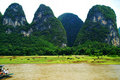 Lijiang River, Guilin, China Stock Photos