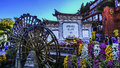 Lijiang in yunnan china old town of also known as dayan is located the town of city province is a beautiful scenery long history Royalty Free Stock Photo