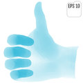 Like. 3d concept of like. Thumb up, thumb down applique vector i