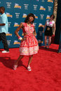 Lil mama arriving at the bet awards at the shrine auditorium in los angeles ca on june Royalty Free Stock Images