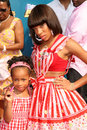 Lil mama and her sister jessica at the bet awards shrine auditorium los angeles ca Stock Image