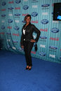 Lil rounds arriving at the american idol top party at area in los angeles ca on march Stock Photography
