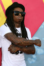 Lil wayne arriving at the video music awards on mtv at paramount studios in los angeles ca on september Stock Photo