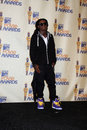 Lil wayne in the press room of the mtv movie awards in universal city ca on may Stock Photography