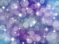 Lilac background with boke effect and stars abstract blue Royalty Free Stock Photo