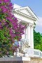 Lilac Bushes Building Column P...