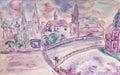 Lilac dreamtown