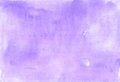 Lilac gentle background painted in watercolor