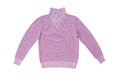 Lilac knitted sweater. Royalty Free Stock Images