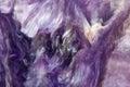 Lilac Rare Crystal. Macro.