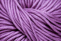 Lilac yarn Royalty Free Stock Photos