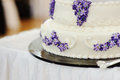 Liliac Cake Stock Photos