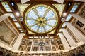 LILLE: Chamber of commerce, interiror hall. France Royalty Free Stock Photo