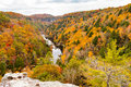 Lilly Bluff Overlook at Obed Royalty Free Stock Photo