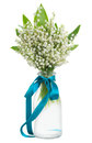 Lilly of the valley posy Royalty Free Stock Photo