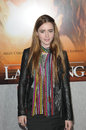 Lily collins at the last song world premiere arclight hollywood ca Stock Photo