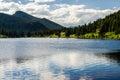 Lily Lake Rocky Mountain National Park Colorado Trail Royalty Free Stock Photo