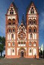 Limburg cathedral the catholic of also known as georgsdom or limburger dom in german after its dedication to saint george is Royalty Free Stock Image