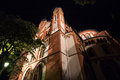 Limburger dom germany at night the Stock Images