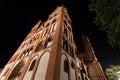 Limburger dom germany at night the Royalty Free Stock Photography