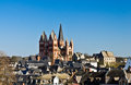 Limburger dom limburg an der lahn germany Royalty Free Stock Images